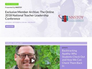 The NNSTOY Online National Teacher Leadership Conference