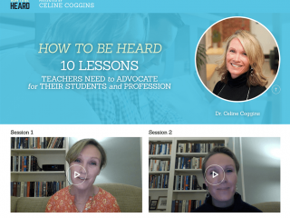 """How to be Heard"" Author Workshops"